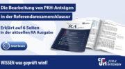 Die Bearbeitung von PKH-Anträgen in der Referendarexamensklausur - Jura Intensiv