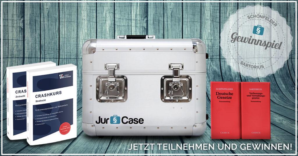 JurCase Gewinnspiel