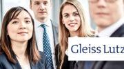 Stellenanzeige: Referendar – Gleiss Lutz Hootz Hirsch PartmbB Rechtsanwälte, Steuerberater