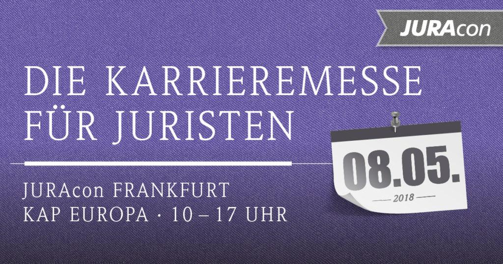 JURAcon - Die Karrieremesse für Juristen - Frankfurt 2018 - JurCase
