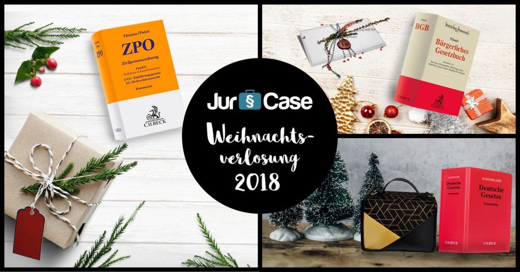 JurCase Weihnachtsaktion 2018