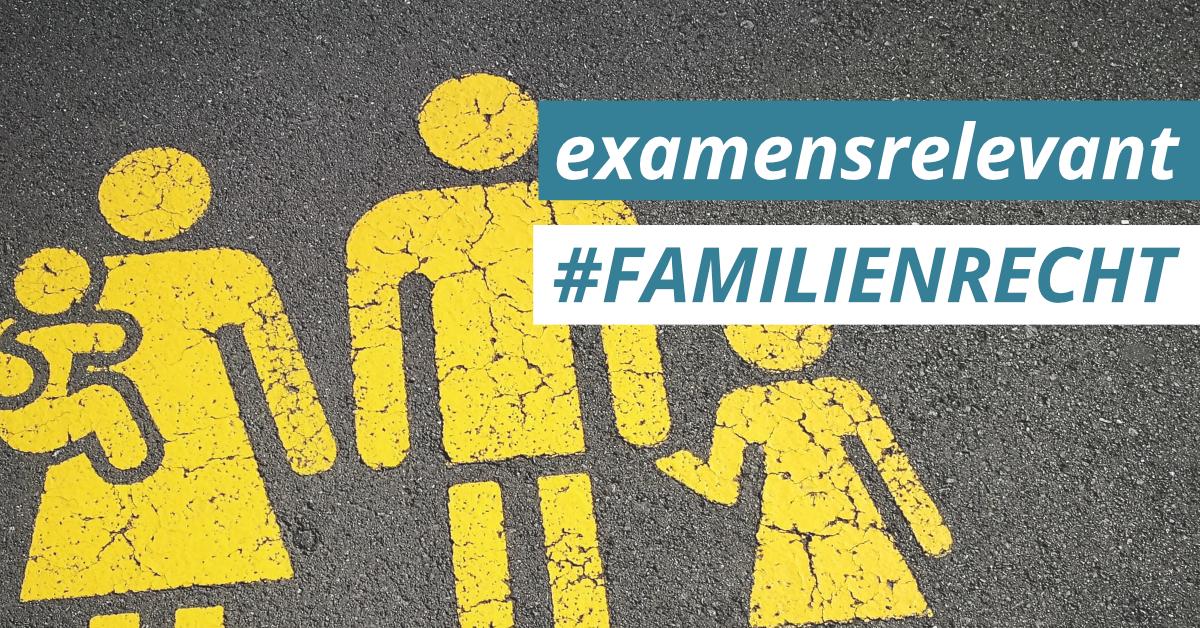 JurCase examensrelevant Familienrecht