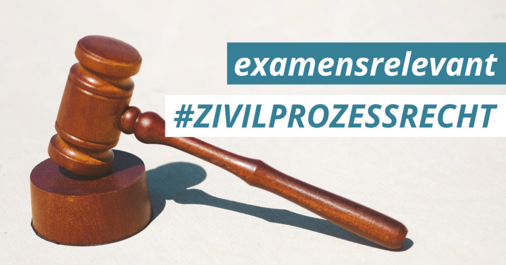 JurCase examensrelevant Zivilprozessrecht