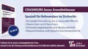 Jura Intensiv: Crashkursskript Assex Anwaltsklausur – Zivilrecht