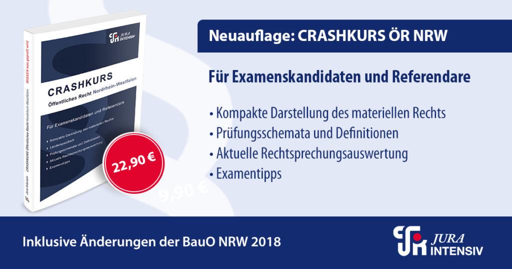 Jura Intensiv Crashkurs Oeffentliches Recht NRW
