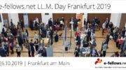 Eventankündigung: e-fellows.net LL.M. Day Frankfurt 2019