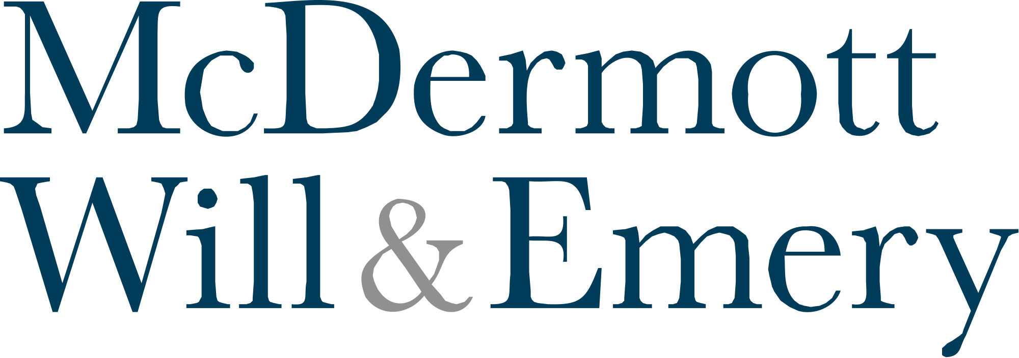 Logo der Kanzlei McDermott, Will & Emery