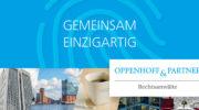 Stellenanzeige: Referendar – Oppenhoff & Partner Rechtsanwälte Steuerberater mbB