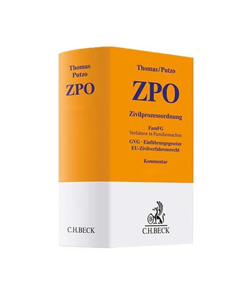 Thomas / Putzo 2018 ZPO Zivilprozessordnung