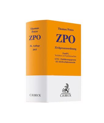 Thomas / Putzo ZPO Kommentar JurCase Shop