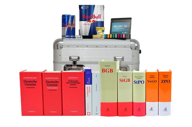 Gesetzestexte und Kommentare mieten für das zweite Staatsexamen in Hessen